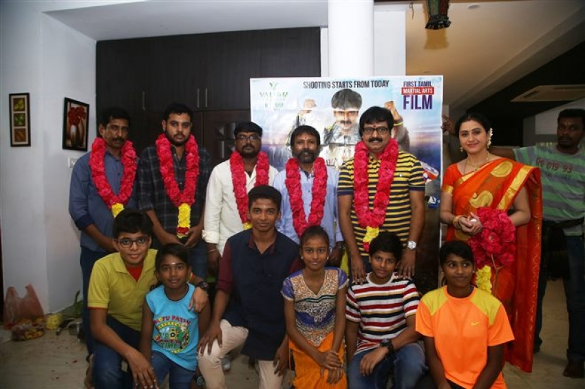 Ehumin Movie Shoot Starts With Pooja Photos