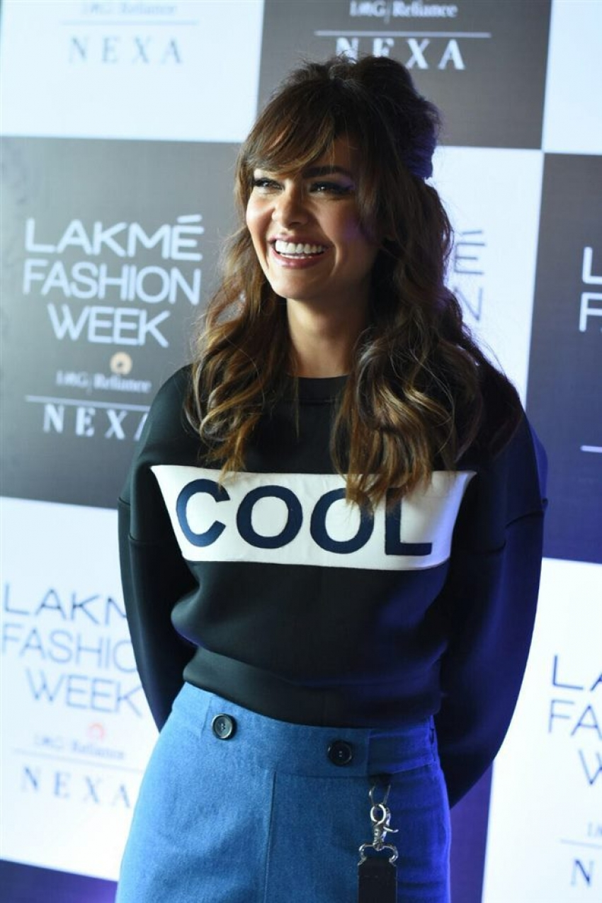 Esha Gupta At Lakme Fashion Week Audition 2018 Photos