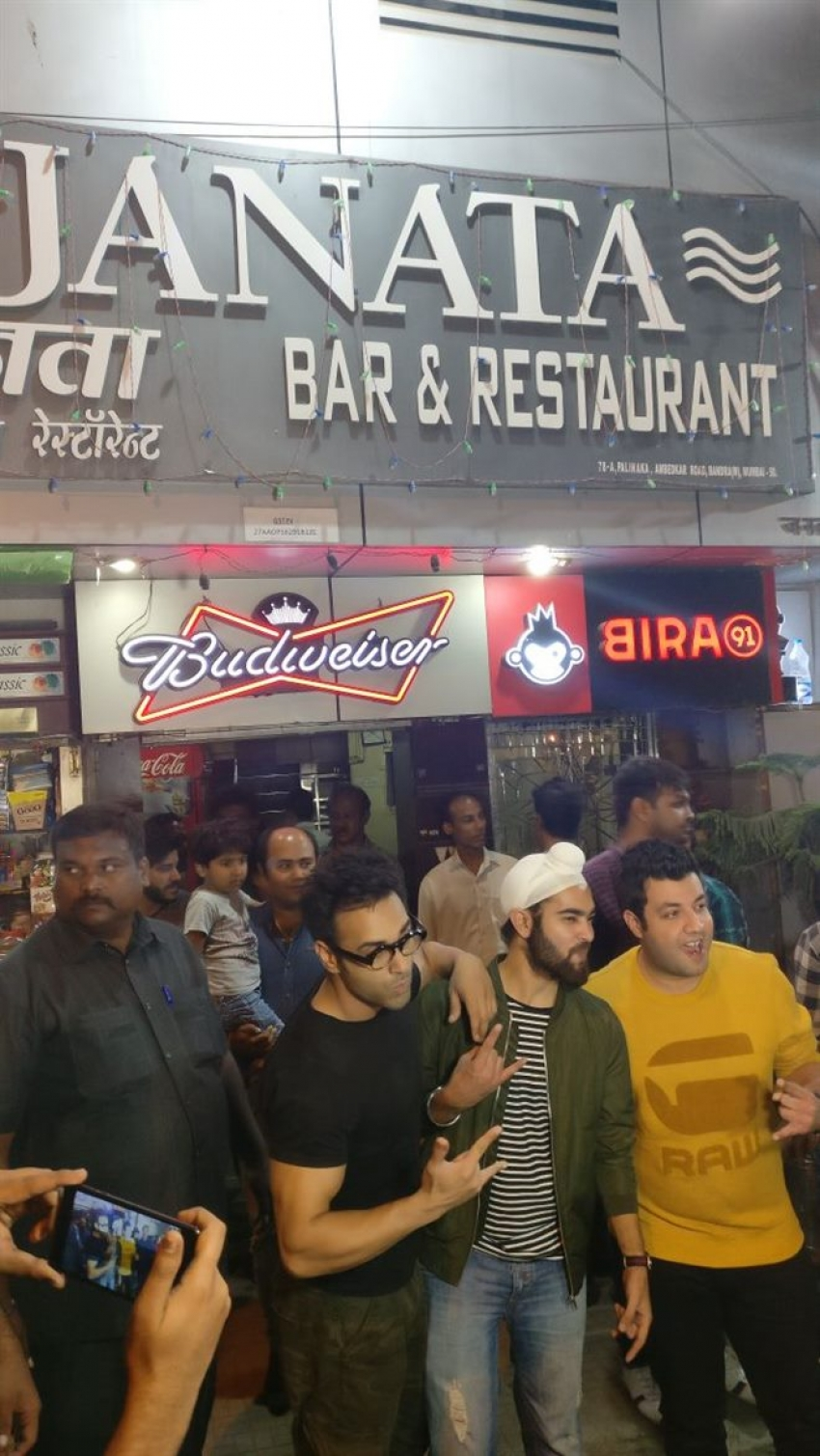 Fukrey Returns Release Celebration At Local Bandra Bar Photos