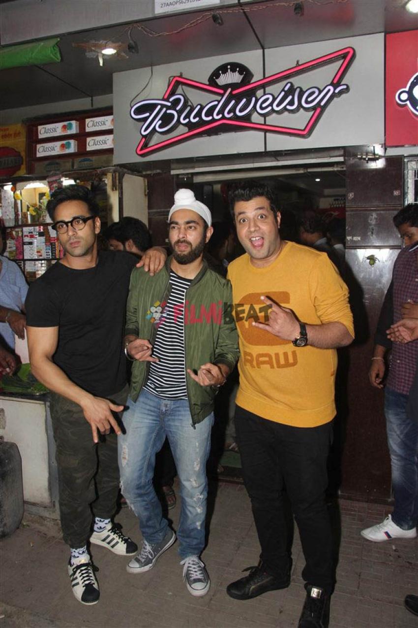Fukrey Star Cast Spotted At Janta Bar Bandra Photos