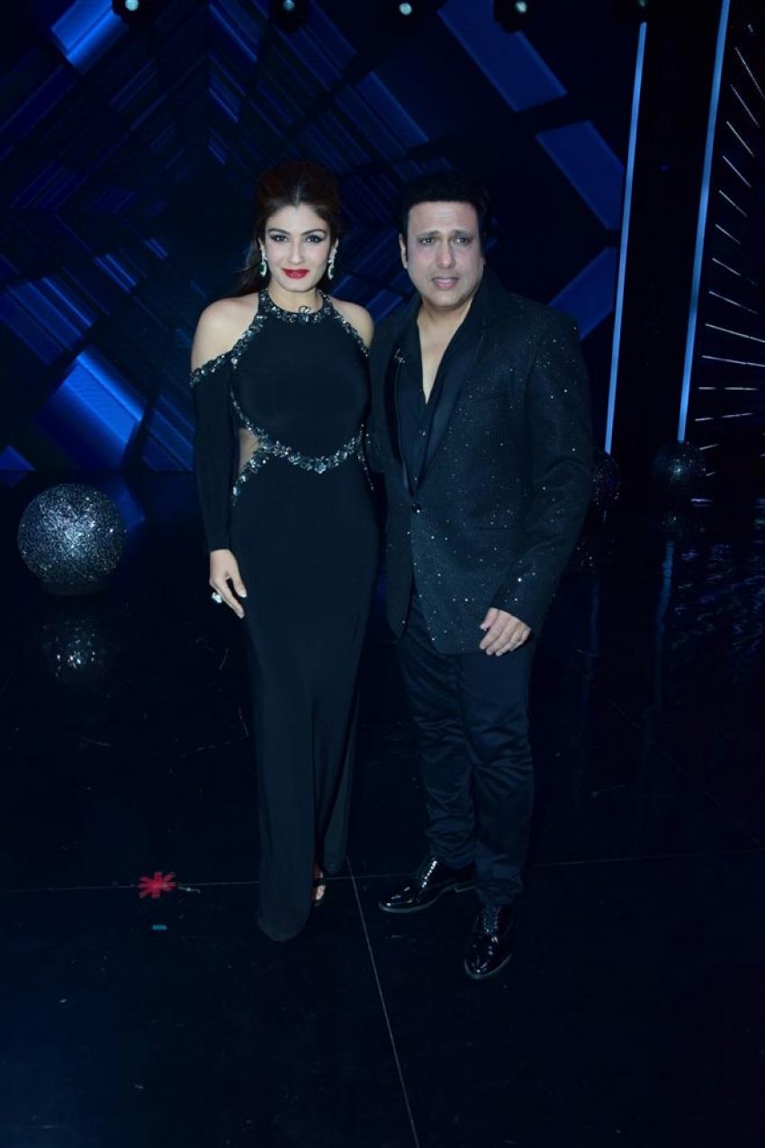 Govinda & Raveena Tandon Graced The Super Dancer 2 Reality Show