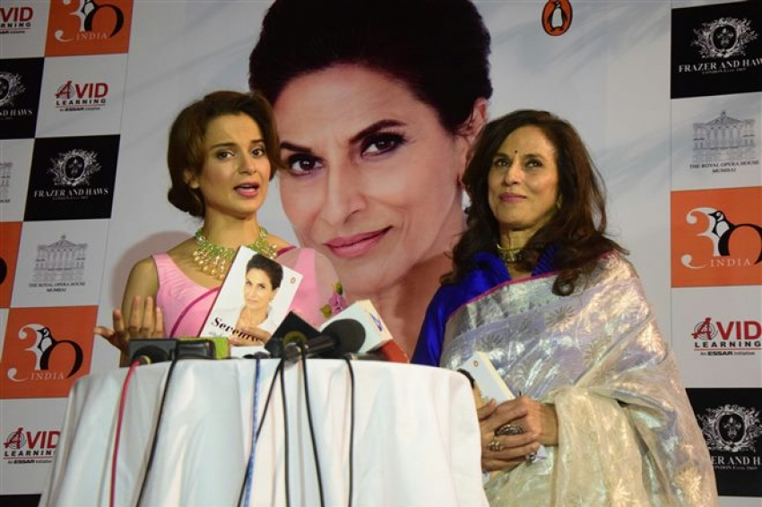 Kangana Ranaut Launches Shobha De's book Photos