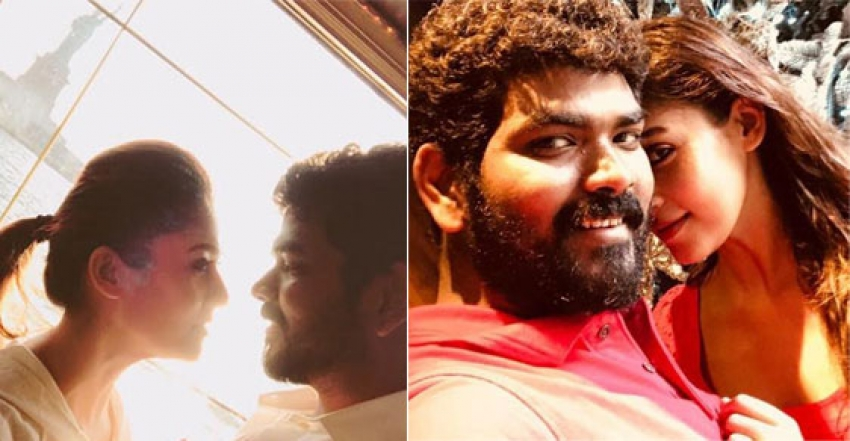 Kollywood Love Birds-Nayntara And Vignesh Viral Photos