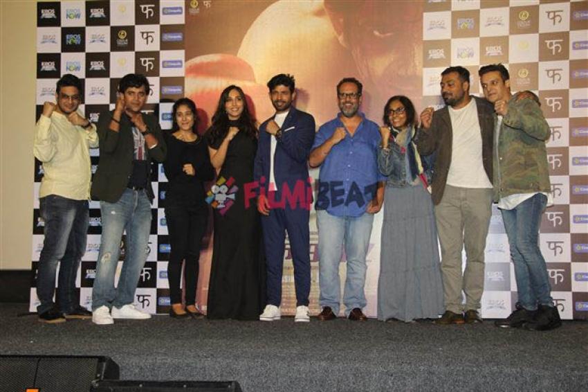 Mukkabaaz Trailer Launch