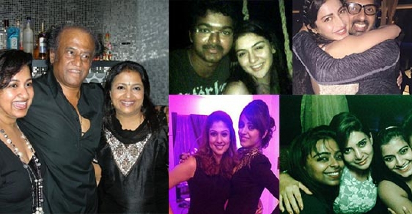 New Year's Special : See How Our Tamil Celebs Party Photos