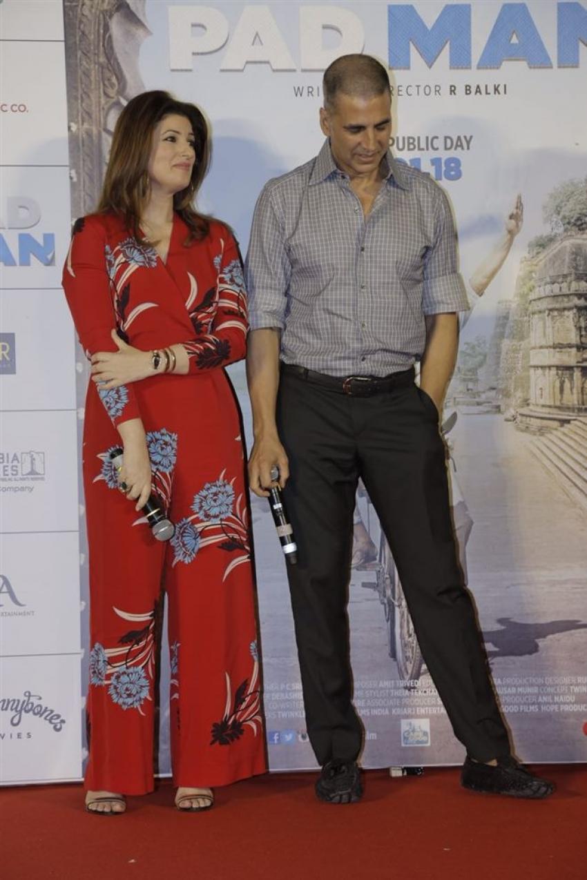 Padman Movie Song Aaj Se Teri Launch Photos