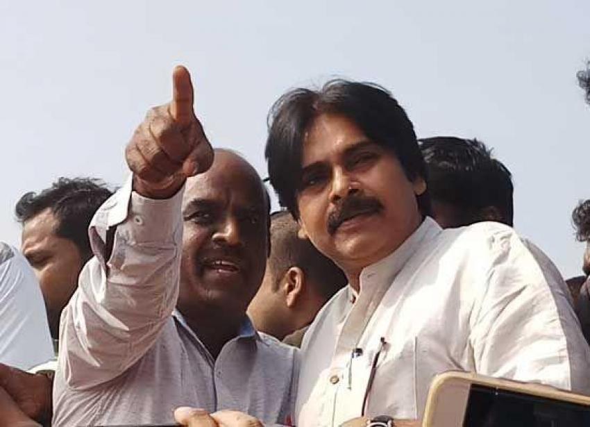Pawan Kalyan Visits Polavaram Photos