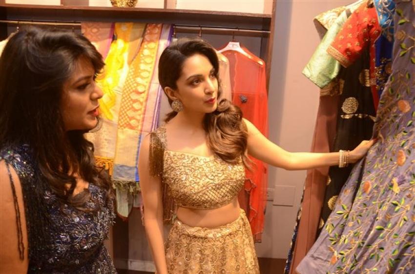 Puri Jagannadh & Kaira Advani Launches Designer Sirisha Reddy Boutique at Jubilee Hills Photos