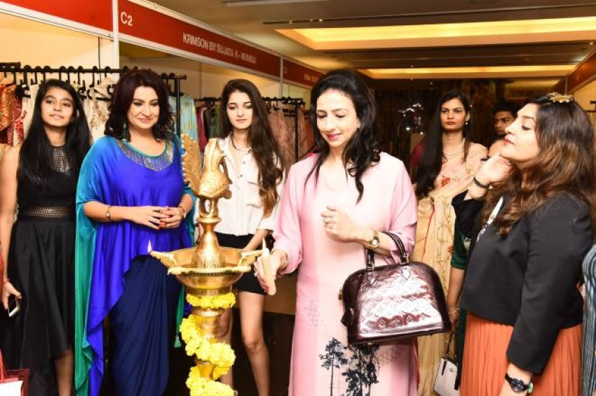 Radhikaa Sarathkumar inaugurates The Vimonisha Mega Style Souk 2017 Photos