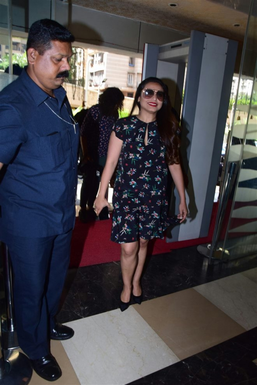 Rani Mukerji Hichki Trailer Launch Photos