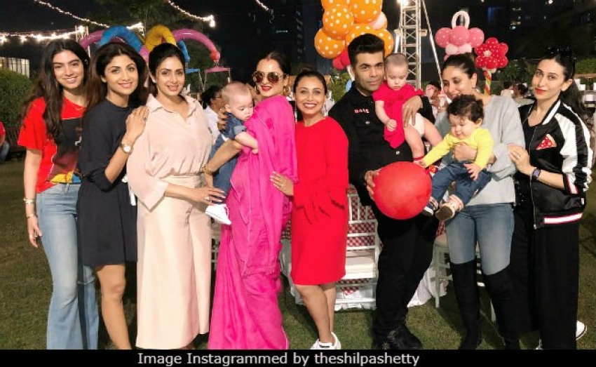 Rani Mukerji's Daughter Adira's 2nd Birthday Party Photos