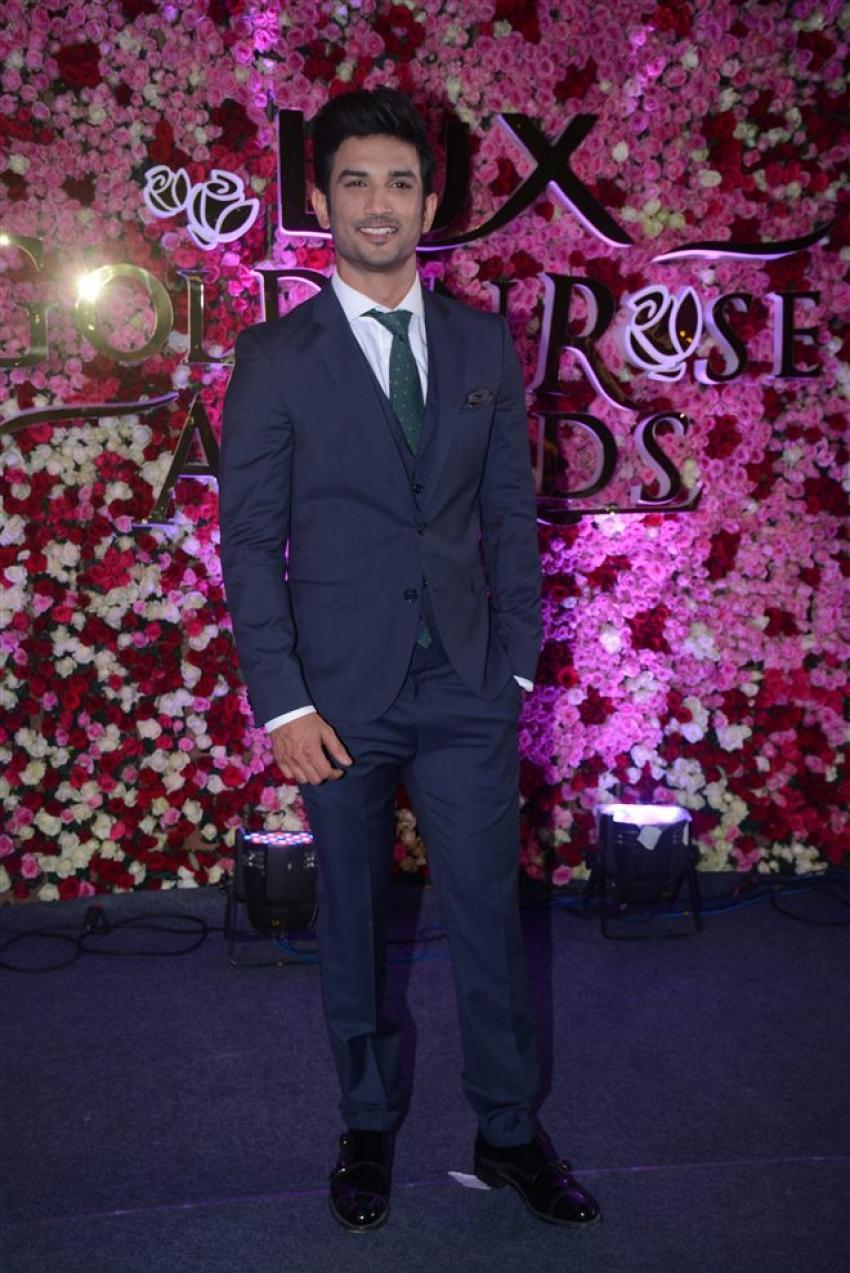 Red Carpet Photos Of Lux Golden Rose Awards 2017 Photos