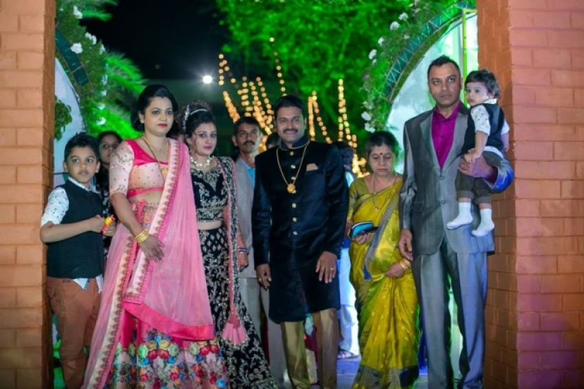 Rishab Shetty Marriage Photos