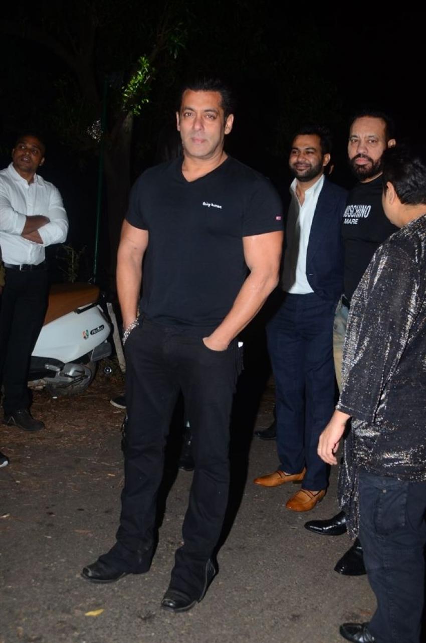 Salman Khan's Birthday Party 2017 At Pavel Photos