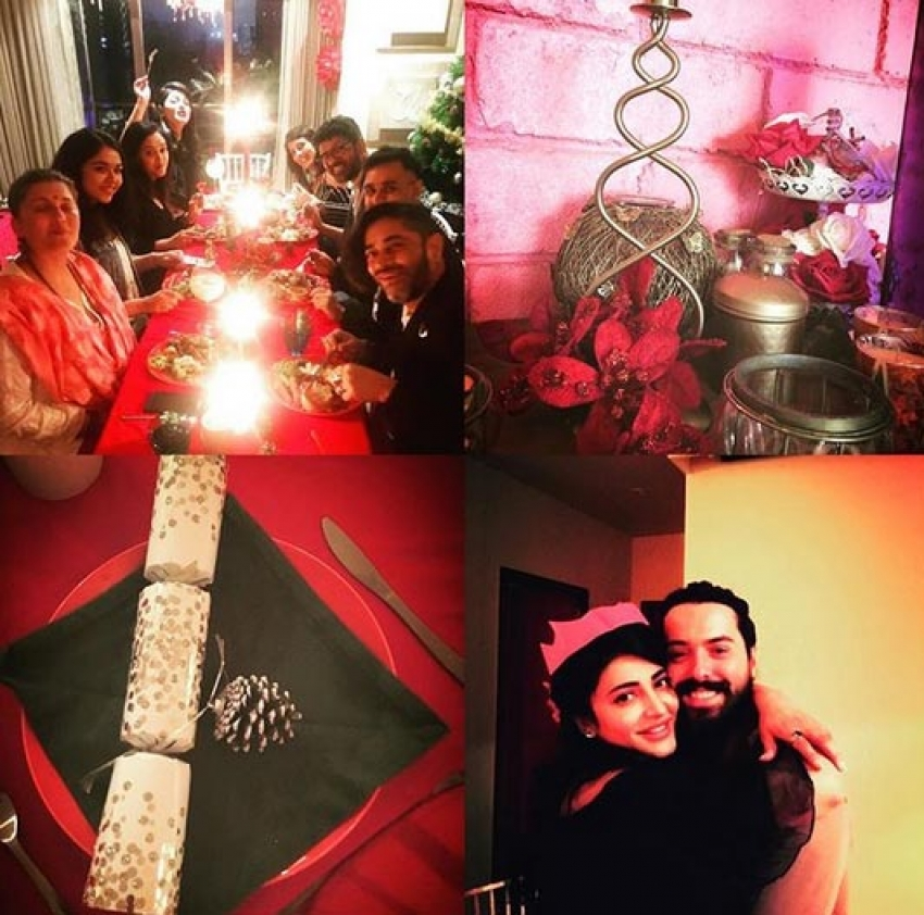 See How Our Tamil Celebs Celebrated Christmas 2017 Photos