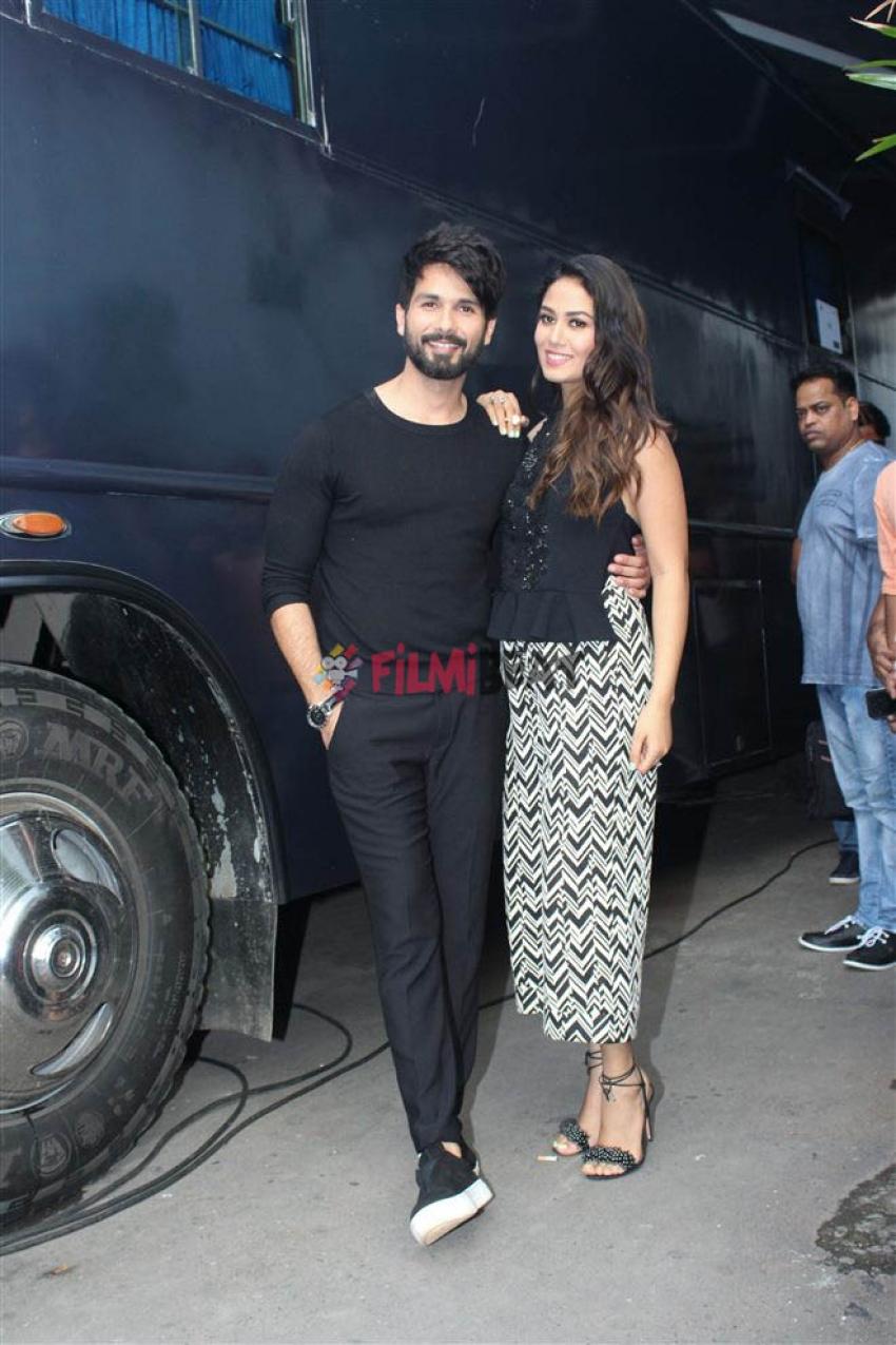 Shahid Kapoor And Mira Rajput At BFF Vogue Show With Neha Dhupia Photos