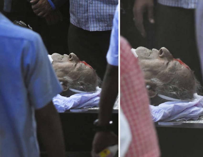 Shashi Kapoor Funeral Photos