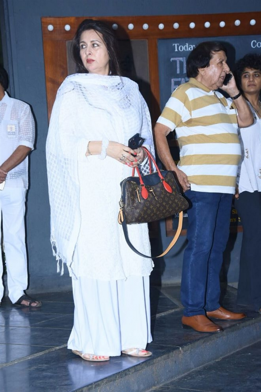 Shashi Kapoor Prayer Meet At Prithvi Theatre Photos