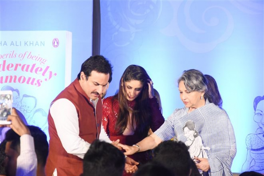 Soha Ali Khan's Book Launch Event Photos