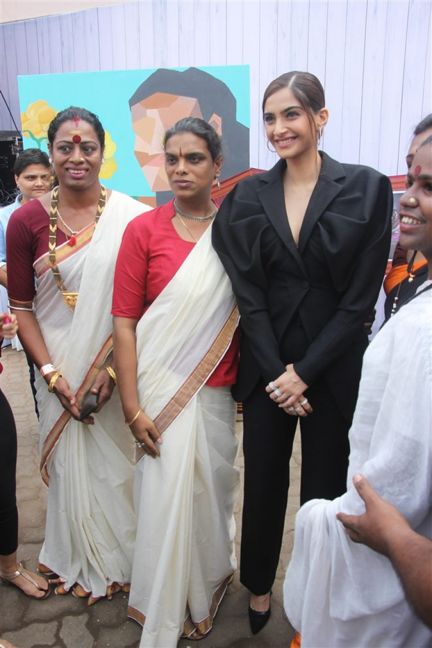 Sonam Kapoor At We The Women Campaign Photos