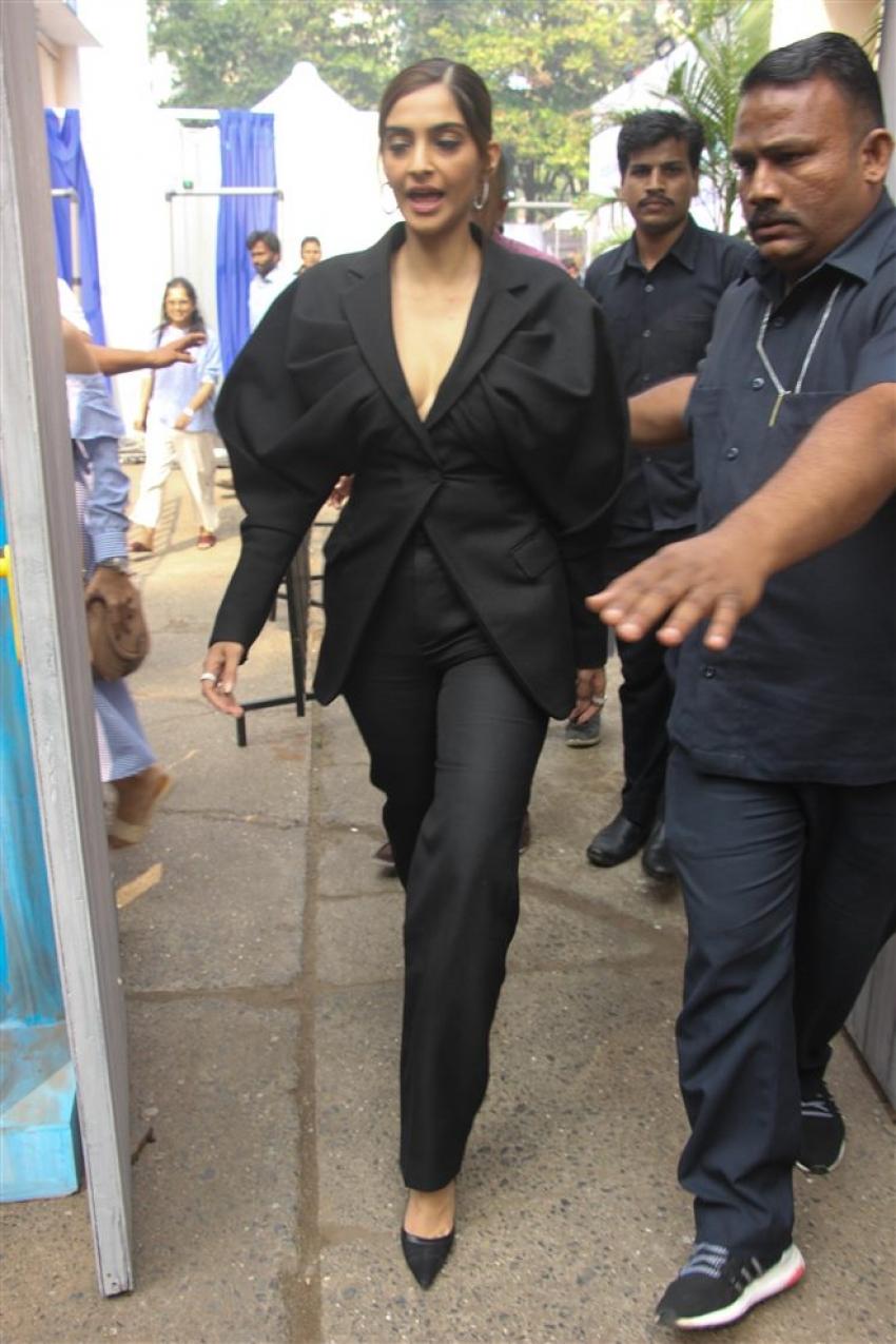 Sonam Kapoor At We The Women Campaign Photos