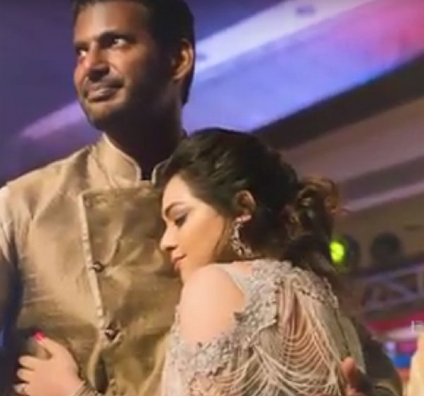 Vishal Sister Wedding Reception Unseen Photos