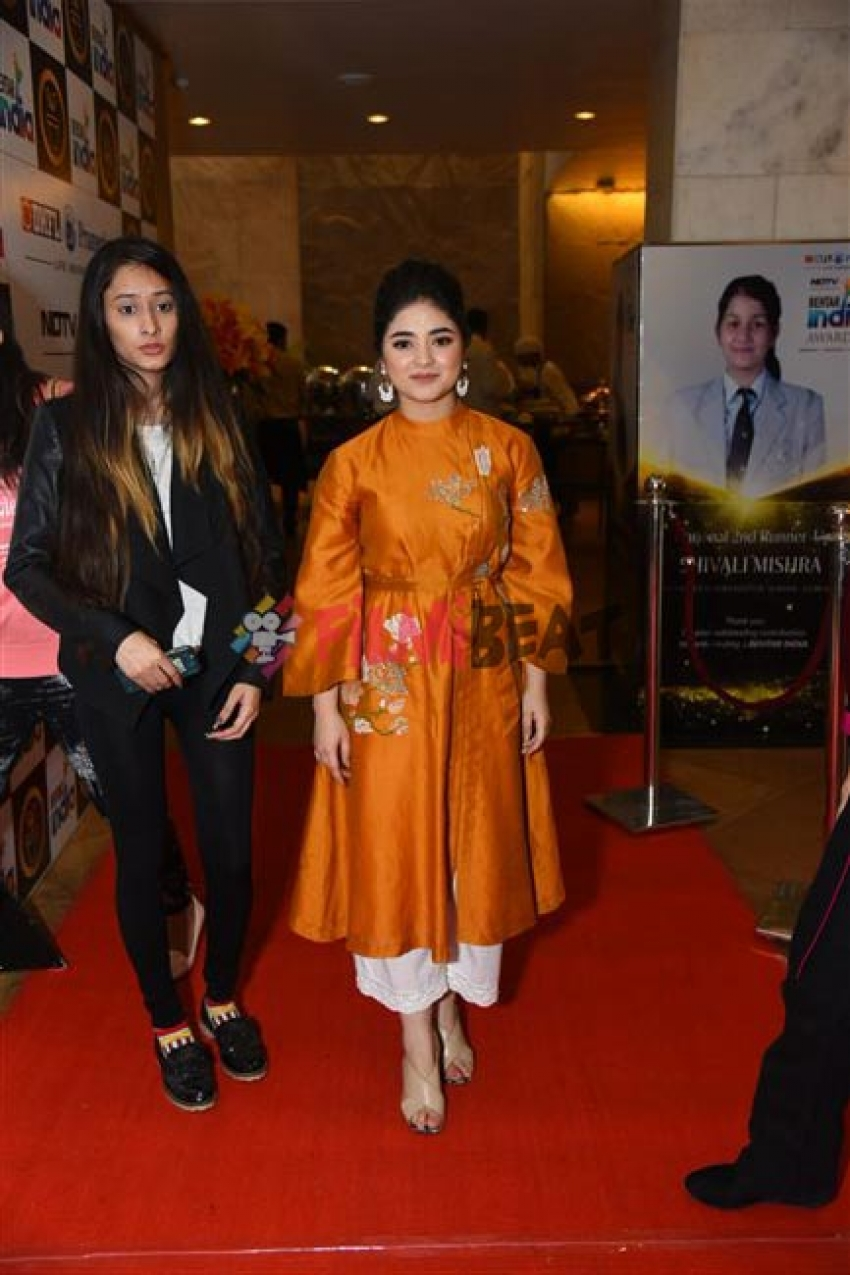 Zahira Waseem For NDTV Behtar India Awards In Delhi Photos