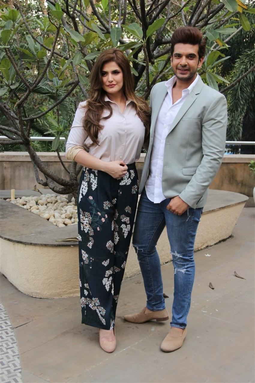 Zareen Khan Promote 1921 Movie At Novotel Juhu Photos