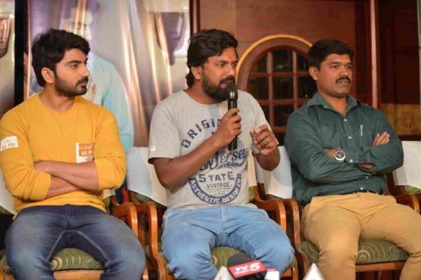 Aathruptha Press Meet Photos
