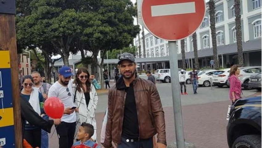 Anushka & Virat Enjoy Together In Capetown Photos