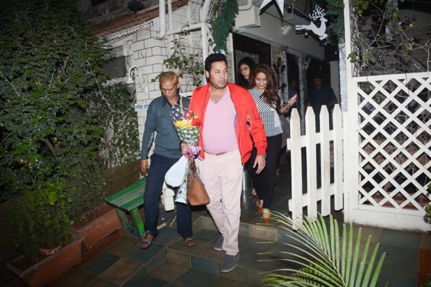 Arbaaz Khan Spotted With His Girlfriend At Smoke House Bandra Photos