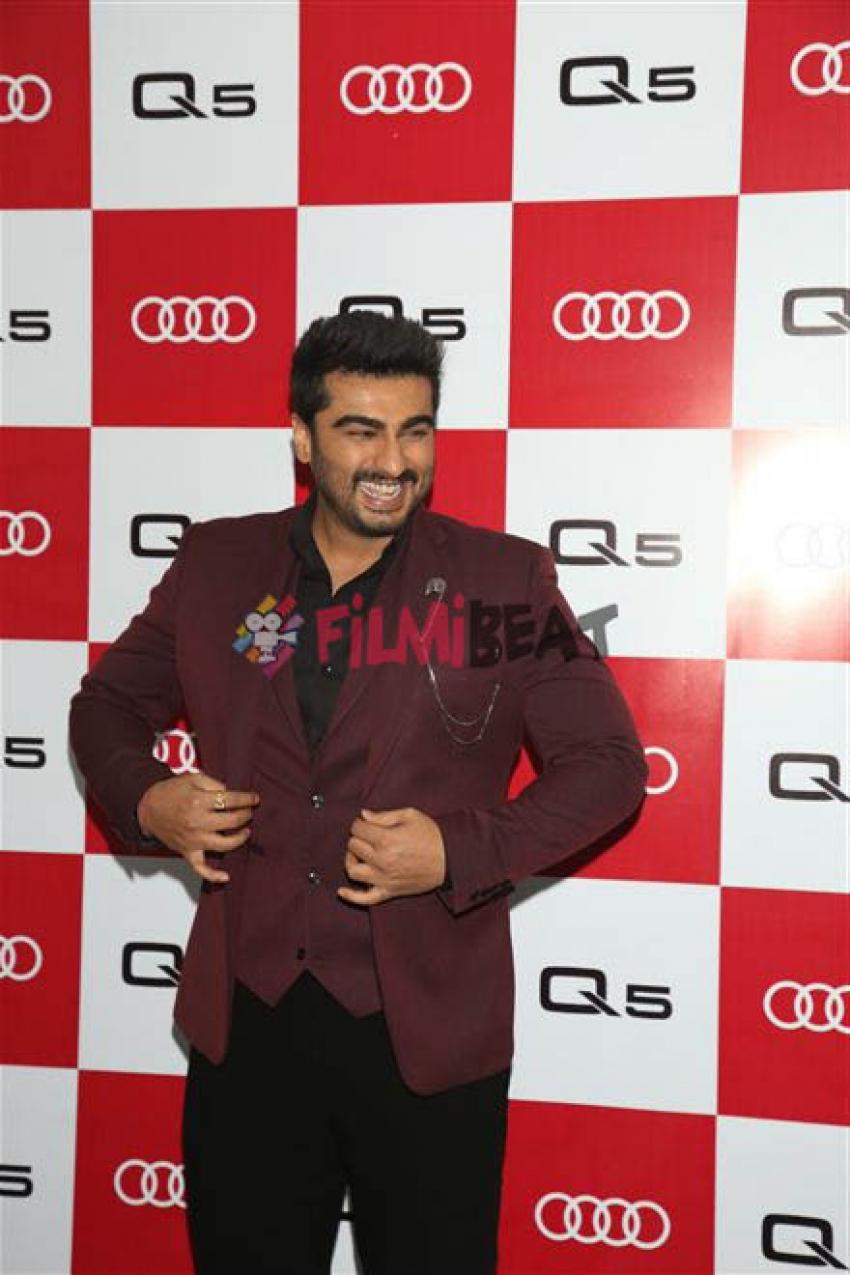 Arjun Kapoor ,Manushi Chillar ,Gauhar Khan & Ridhimma Kapoor At Audi Q5 Launch Carpet Photos