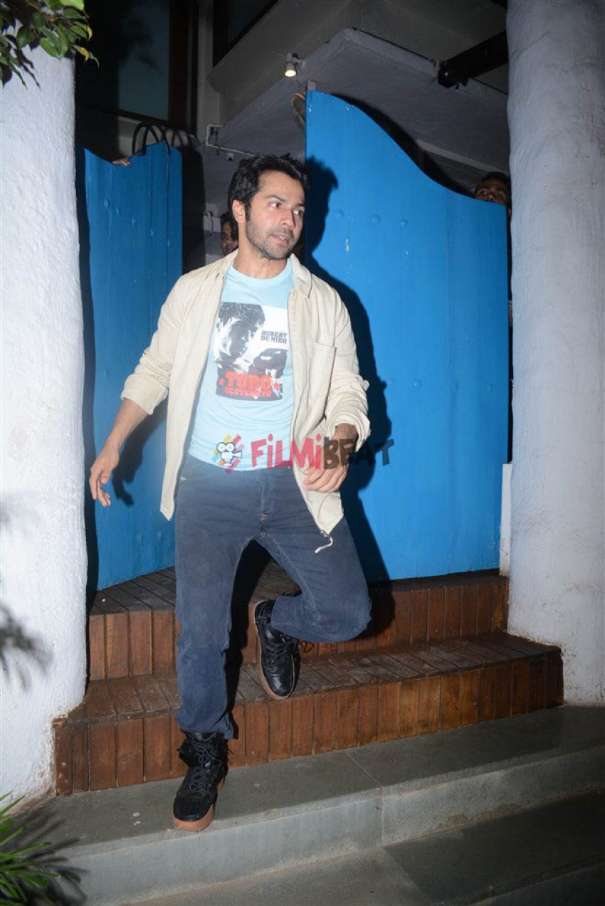 Katrina Kaif, Varun Dhawan & Other Celebs Spotted At Olive Garden Photos