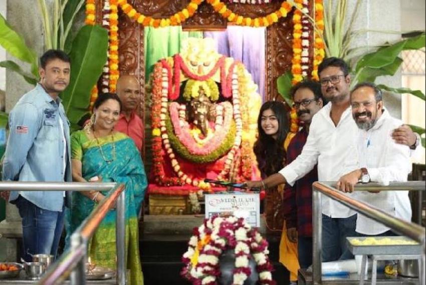 Challenging Star Darshan New Movie Launch Photos