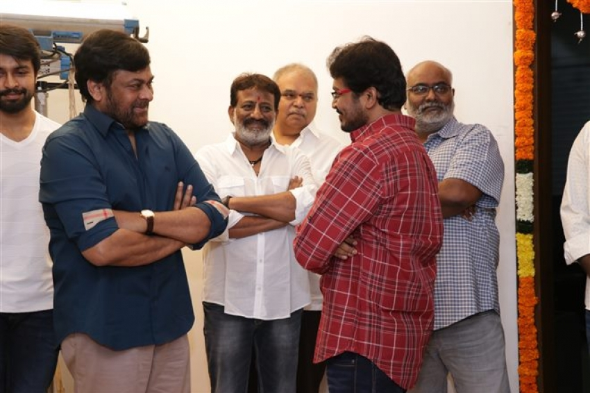 Chiranjeevi Son In Law Kalyaan Dhev's Debut Film, Vaaraahi Production No 12 Launched Photos