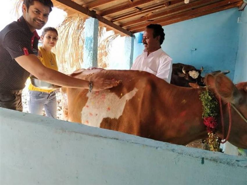 Ganesh Venkatraman Pongal Celebration 2018 Photos