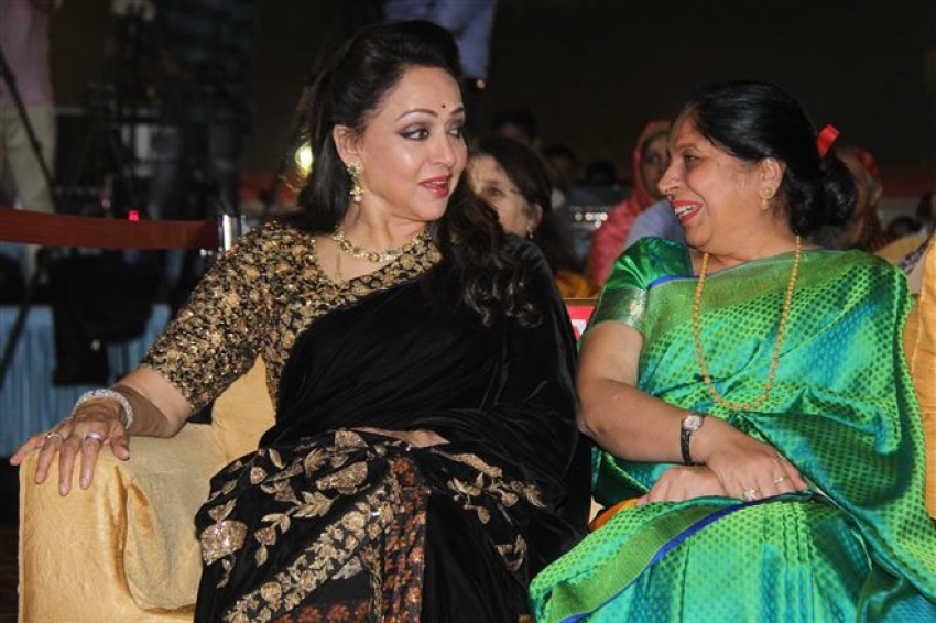 Hema Malini At Bombay Is My Office Book Launch Photos