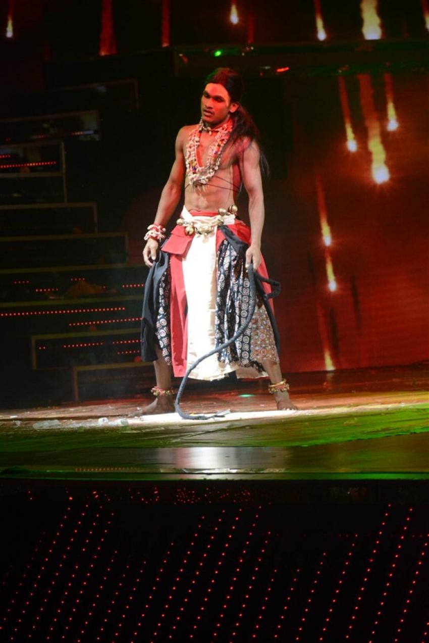 Hema Malini At Dance India Dance Set Photos