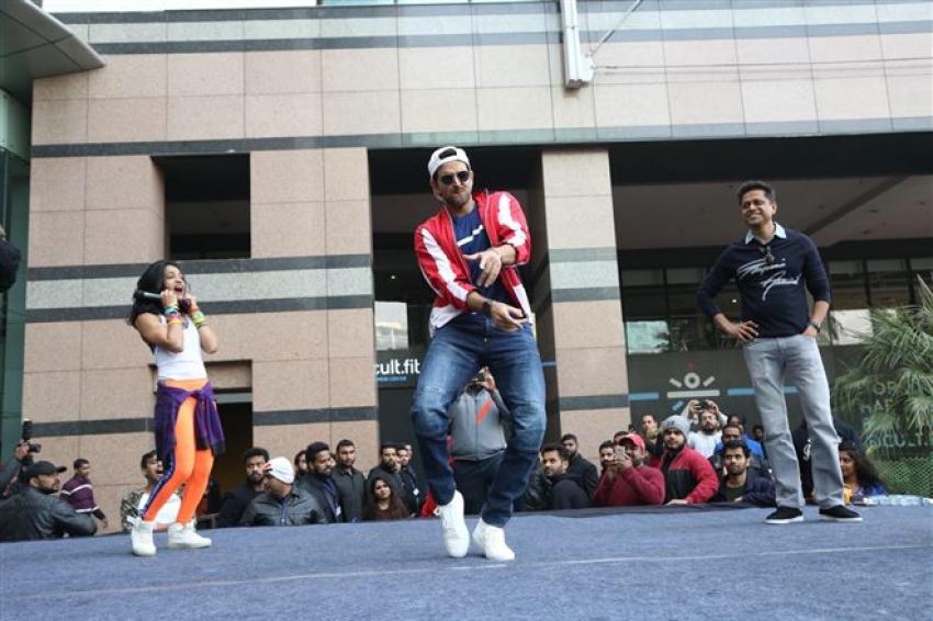 Hrithik Roshan At Launch Of HRX Cult Fit Centre In Gurugram