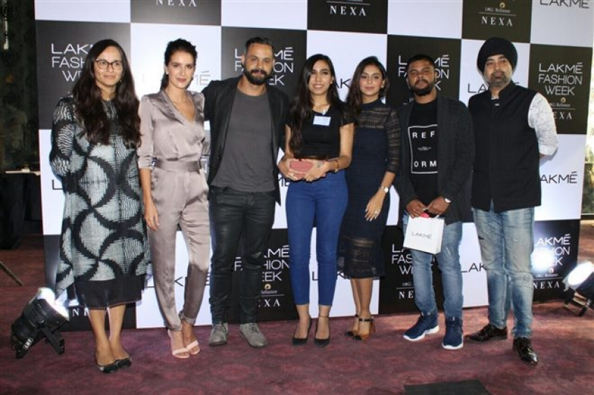 Isabelle Kaif Announces The  Makeup Artist of the Year 2018 Photos