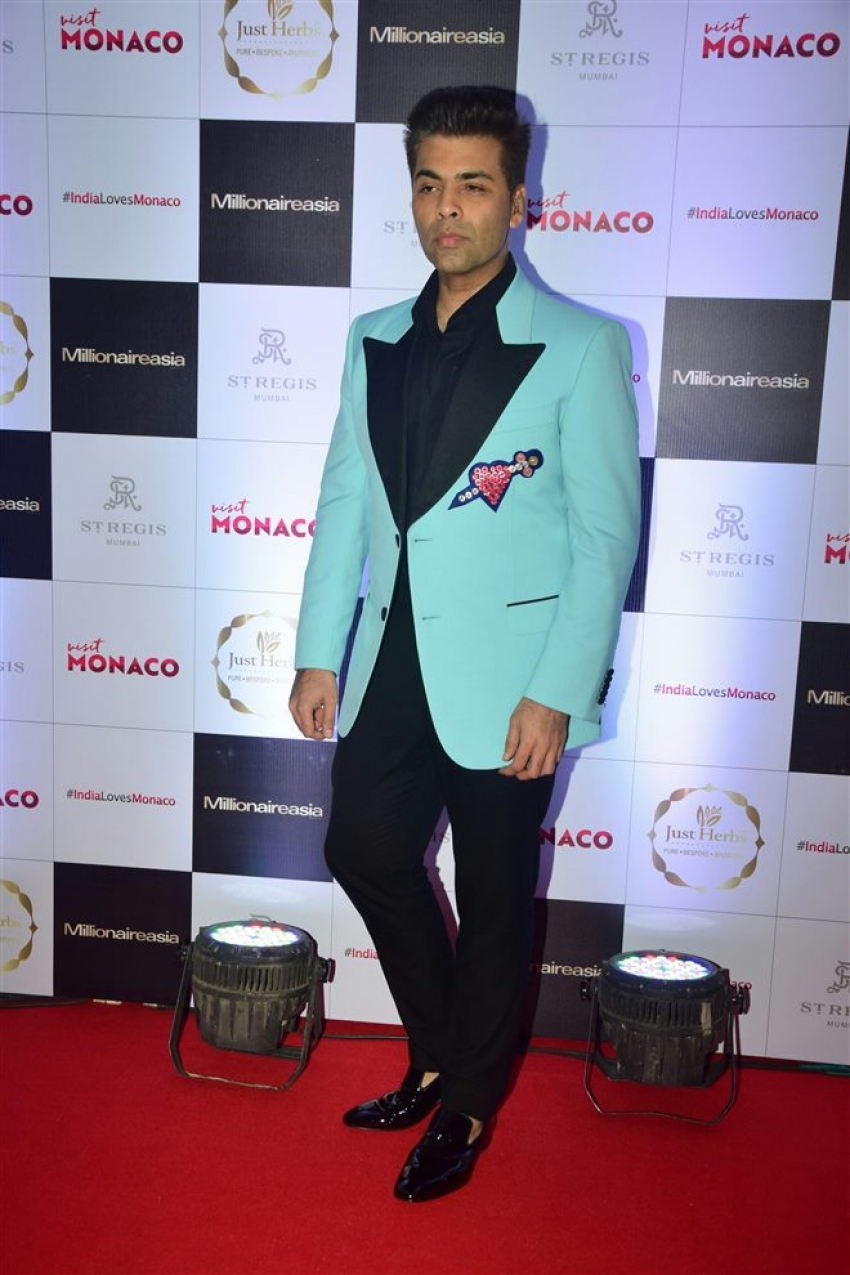 Karan Johar Millionaire Asia Magazine Cover Launch Photos