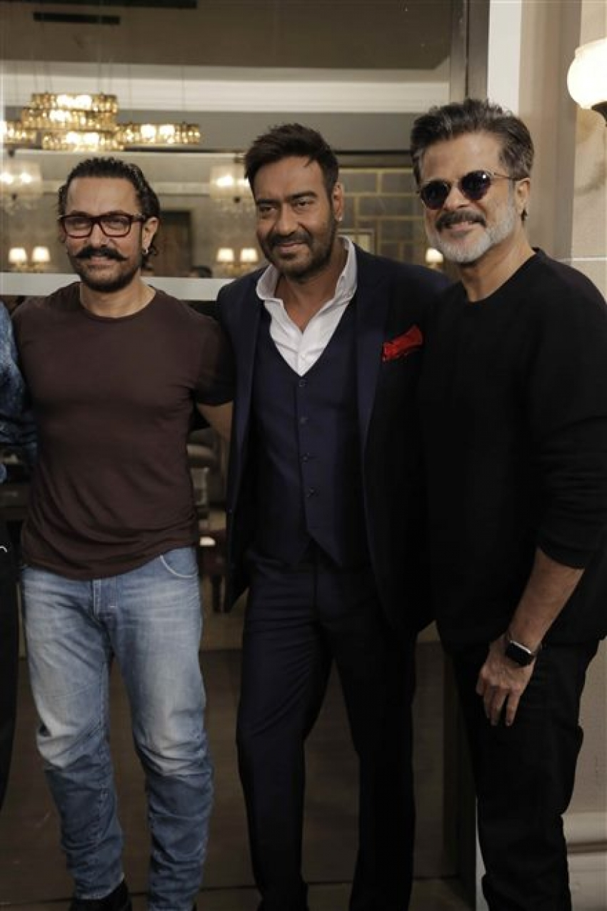 Muhurat Of Film Total Dhamaal At Filmcity Photos
