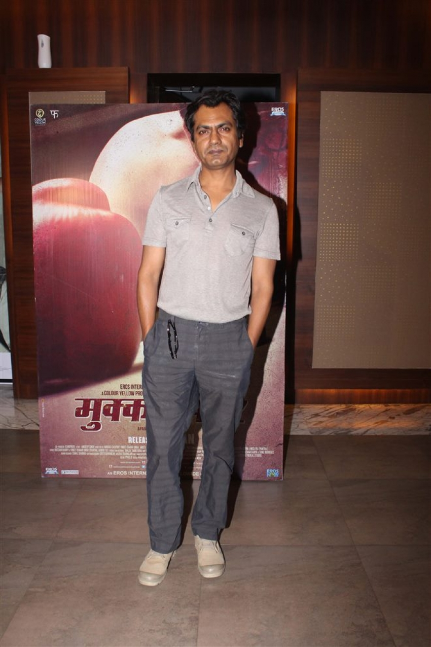 Mukkabaaz Special Screening Photos