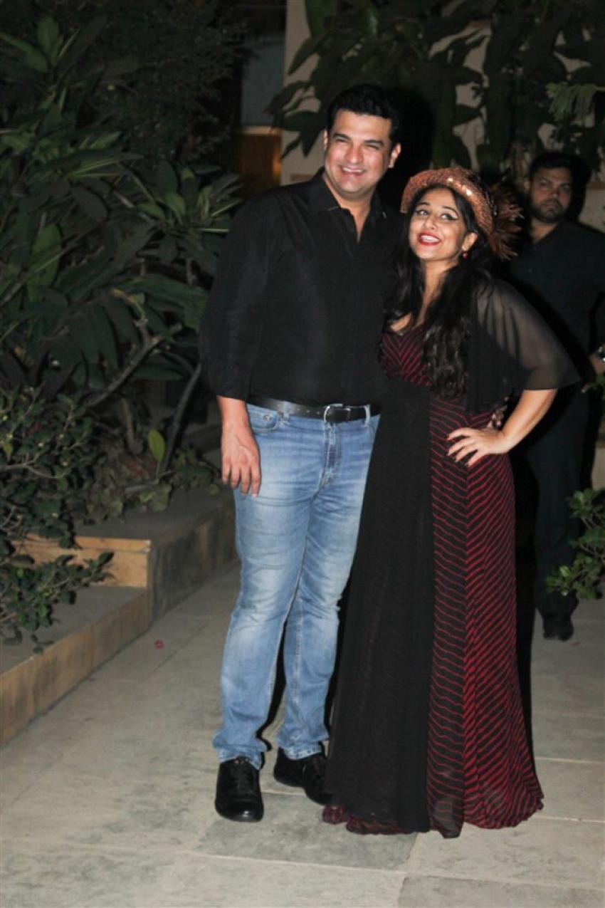 New Year 2018 Party At Vidya Balan's House Photos