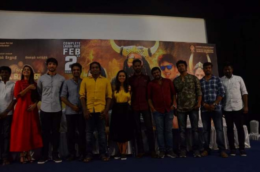 Oru Nalla Naal Paathu Solren Movie Press Meet Photos