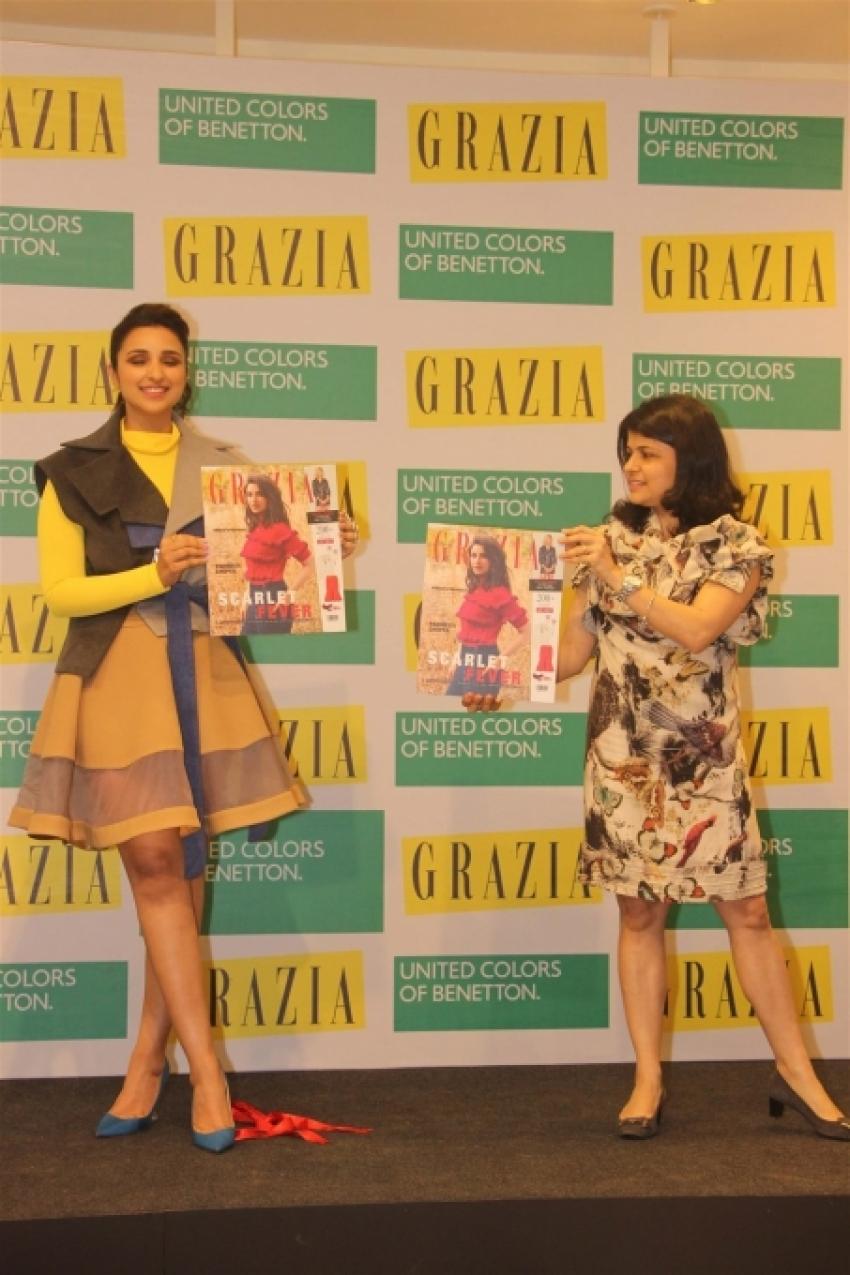 Parineeti Chopra Launch Grazia February 2018 Magazine Photos