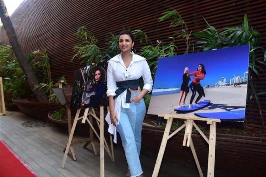 Parineeti Chopra Unveil Her Video Diaries Of Her Recent Trip To Australia Photos