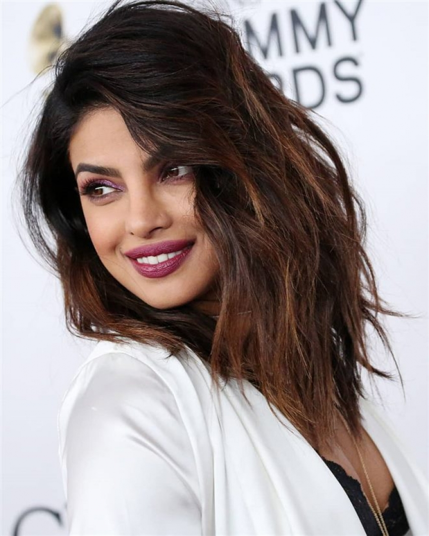 Priyanka Chopra At Pre-Grammy Gala 2018 Photos