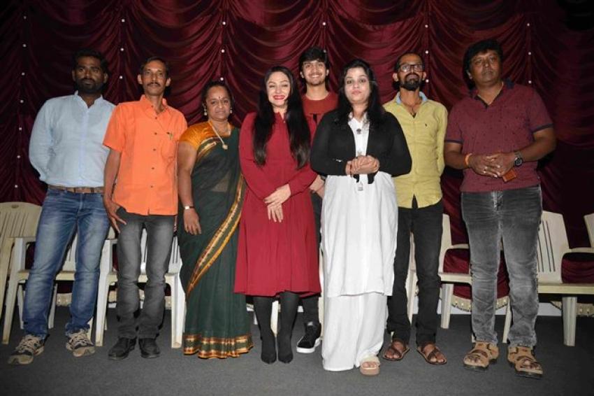 Priyanka Upendra's 2nd Half Movie Press Meet Photos