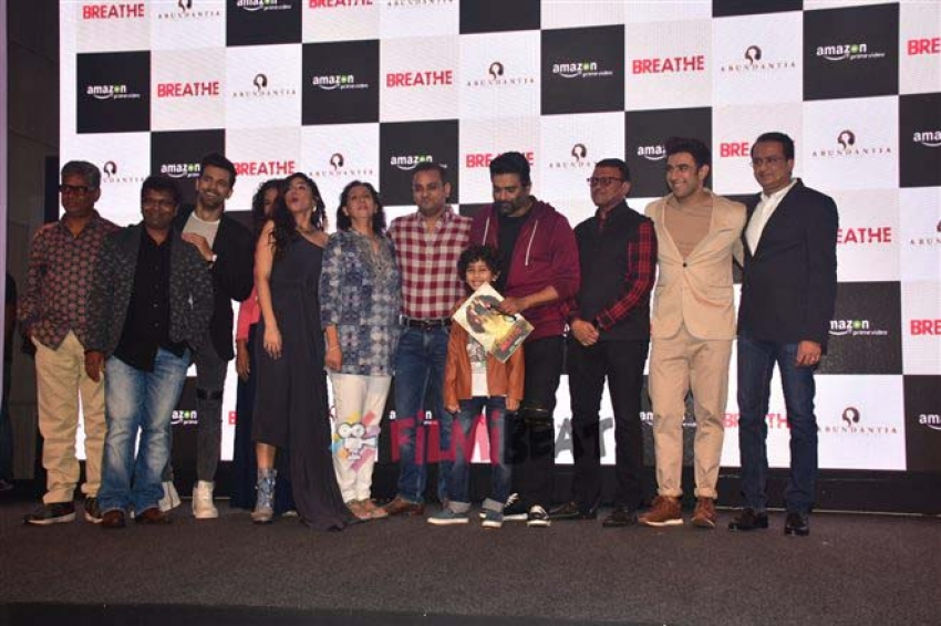 R Madhavan And Team Launch The Trailer Of Amazon's Next Original Breathe Photos